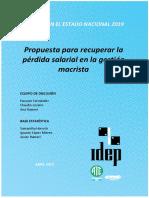 Paritaria Estatal Nacional 2019 (ACTUALIZADO)