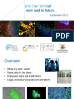 Stem Cell Presentation Revised September 2015