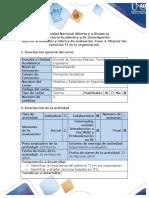 Guía de actividades y rúbrica de evaluación -Fase 4. Mejorar los servicios TI en la organización