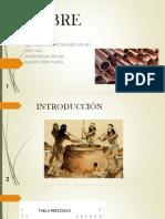 COBRE Exposicion Quimica
