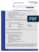 Value Proposition - Pharma Manufacturing