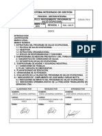 Pgi 9 Programa de Salud Ocupacional