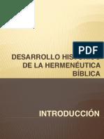 02 Historical Development of Biblical Hermeneutic