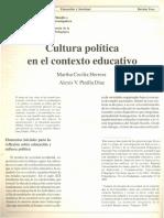 (2001) Cultura Política en el contexto educativo. Herrera_Pinilla.pdf