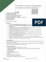 Regulament de Functionare Al Blocului Operator
