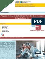 Presentacion FAS - Apertura del servicio de Fisioterapia a Domicilio