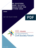 EaP CSF Policy Paper