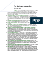 Fifteen Tips for Studying Accounting.docx