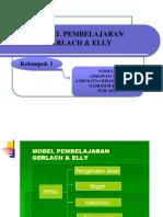 Ppt Model Pembelaran Gerlach & Elly