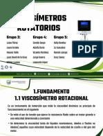 Viscosimetros Rotatorios