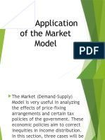 Basic Application of the Market Model