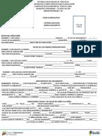 Ficha Acumulativa 2018 Inscripcion Polita de Lima Preescolar