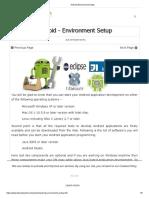 2 Android Environment Setup
