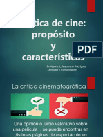 Crítica cinematográfica.ppt