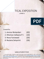 Analytical Exposition (7)