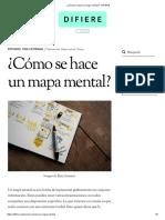 ¿Cómo Se Hace Un Mapa Mental_ - DIFIERE