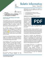 Boletin Informativo IICCFA No. 1