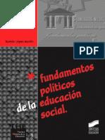 Fundamentos políticos de la Educación Social - Ramón López Martín.pdf