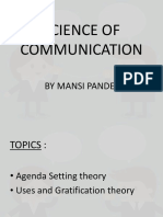 SCIENCE OF COMMUNICATION MANSI PANDEY.pptx