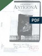 Antígona. Versión José Watanabe