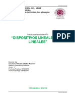 Labo 2 - Dispositivos Lineales y No Lineales