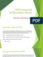 Cálculo TKPH Requerido de Neumático Minero