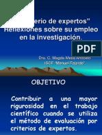 criterio de expertos mayo 2007 magda.pps