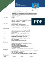 MEP Resume