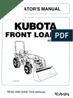 LA 434 Kubota Front Loader Operator's Manual.pdf