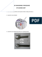 User Manual - Oil Pump Disassembly Procedure