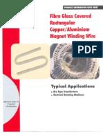 KSH International Fibre Glass Covered Rectangular Copper Conductors Brochure