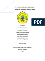 Approach, Method and Technique in Language Teaching (GROUP 1) VI B (TEFL).docx