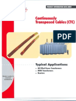 KSH International Continuously Transposed Cables - Conductors (CTC) Brochure