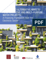 Tapping Into Alternative Ways to Fund Innovative and Multi-purpose Water Projects