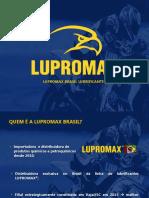 Apresentação LUPROMAX Brasil - Nanotrata