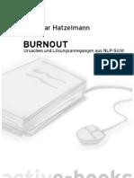 Active Books - BURNOUT Ursachen Und Loesungsanregungen Aus NLP-Sicht - Dr. Elmar Hatzelmann