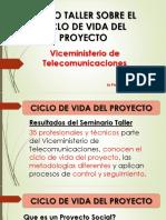 Presentación Ciclo de Vida Del Proyecto