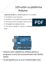 1 Arduino LED Predare