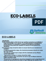 Eco Levels for Textile