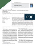Ju_Fan2009_Experimental Study and Mathematical Model of Nanopar Transport in Porous Media