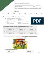 Evaluación de Historia y Geografía