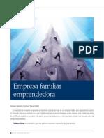 Empresas Familiares Eprendedoras