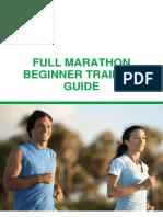 Full Marathon Beginner Training Guide