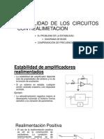 Estabilidad de Los Circuitos Con Realimetacion