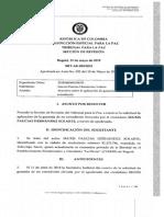 JEP decide no extraditar a 'Jesús Santrich'