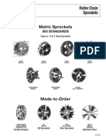 Metric Roller Chain Sprockets