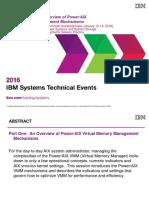 a010029 a Tactical Overview of PowerAIX Virtual Memory Management Mechanisms Cairo Earlj July16-2016