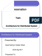 Review Paper on Distributed Architecture