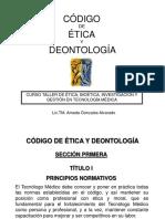 CODIGO DE ETICA Y DEONTOLOGIA.ppt