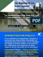 La Adm Pública, los documentos y el archivo.ppt